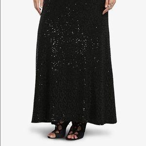 Torrid Sequin Maxi Skirt 22